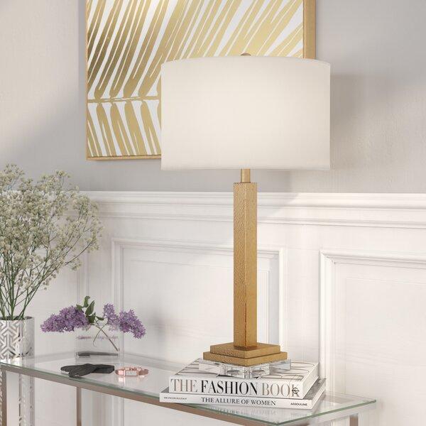Willa Arlo Interiors Mathews Crystal Base 30 Table Lamp Reviews