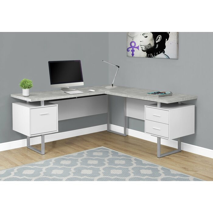 desk corner sequel bdi products black