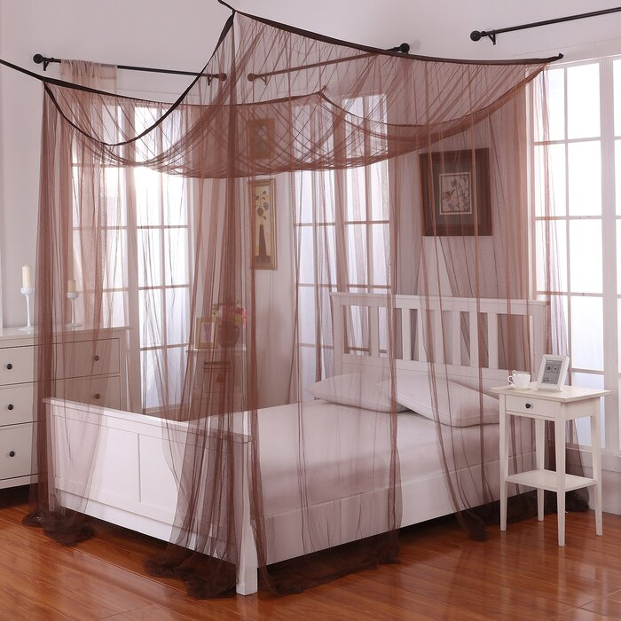 four nexspace bedroom modern king tree rustic post co double bed poster oak within full impressive frame sets