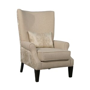 Charlie Occasional Wing back Chair by Sage Avenue