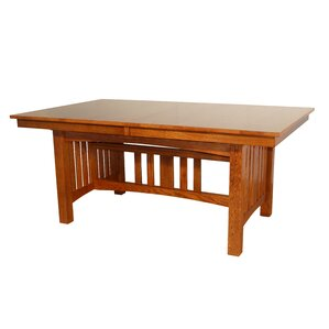 Jere Solid Oak Mission Dining Table by Re..