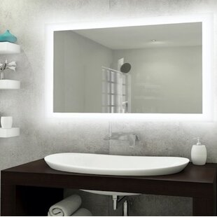 da40cba8688a Bones Backlit LED Bathroom Vanity Mirror. by Orren Ellis