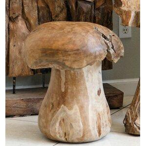 Teak Mushroom Stool