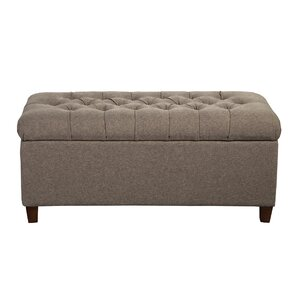 Halvorson Fabric Storage Bench  sc 1 st  Wayfair & Ottomans u0026 Poufs | Wayfair islam-shia.org