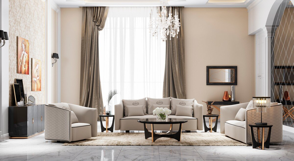 Mercer41 Cummings 3 Piece Living Room Set & Reviews | Wayfair