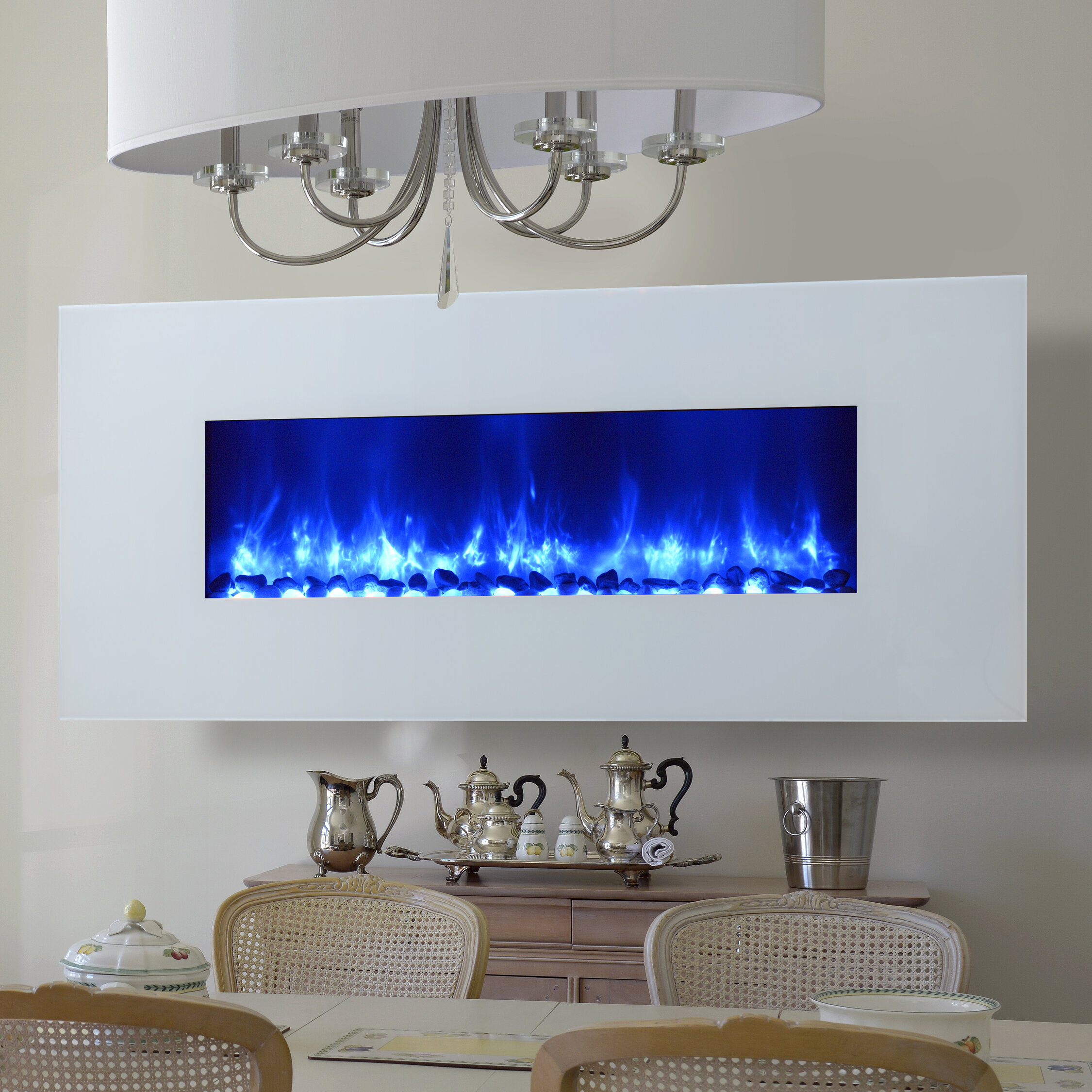 Dynasty Miami LED Wall Mounted Electric Fireplace & Reviews | Wayfair