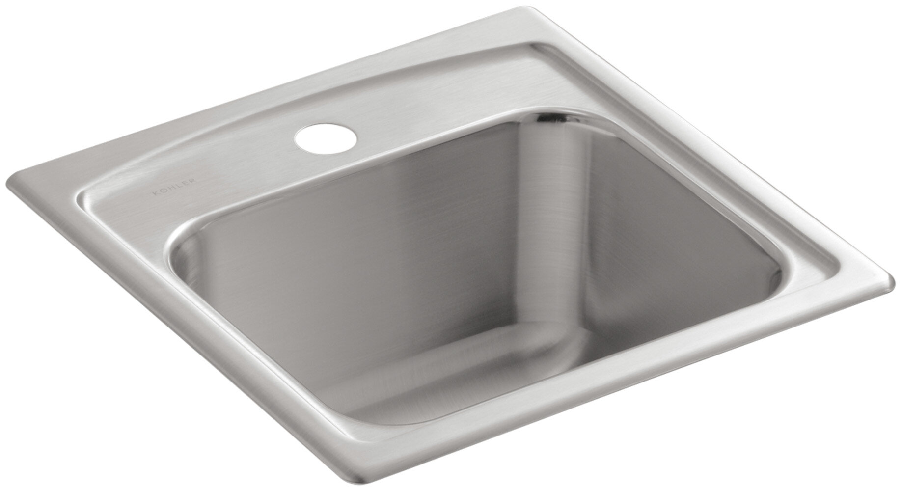 K-3349-1-NA Kohler Toccata Top-Mount Bar Sink with Single Faucet ...