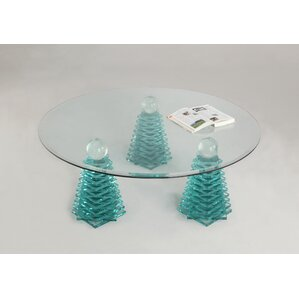 Venetia Glass Coffee Table by Fleur De Lis L..