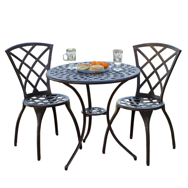 Iron Outdoor Dining Set Part - 27: Metal Patio Dining Sets Youu0027ll Love | Wayfair