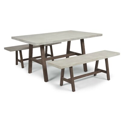 3 Piece Dining Table With Bench Kitchen Amp Dining Room Sets