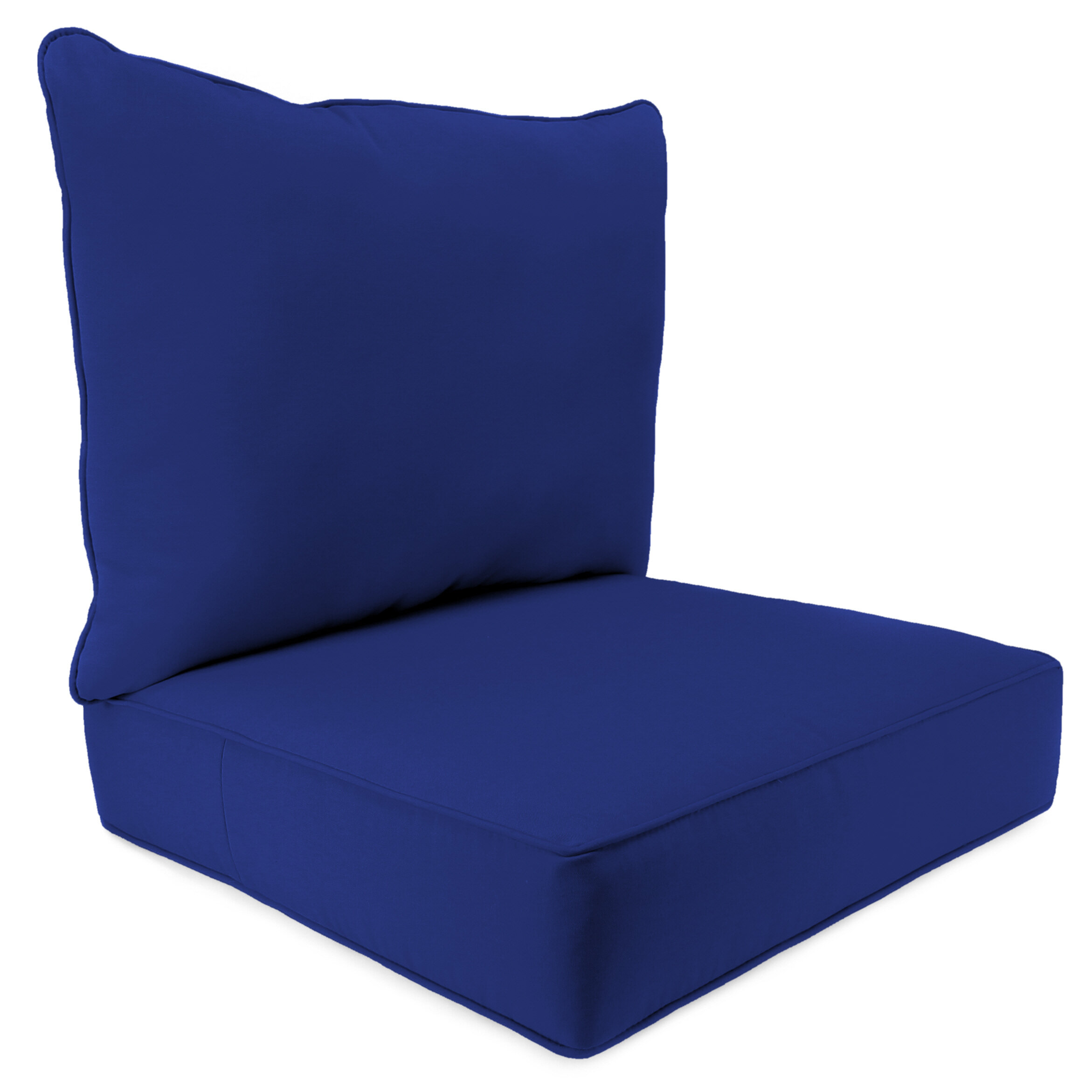 Surprising 2 Piece Indoor Outdoor Chair Cushion Set Beutiful Home Inspiration Aditmahrainfo