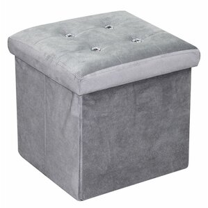 Ottoman with Stones by Home Basics