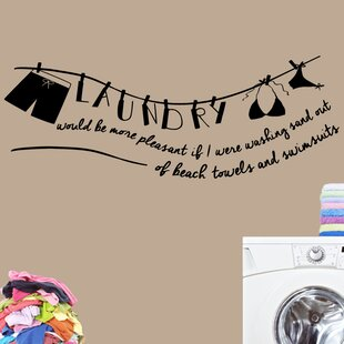 Laundry Room Door Decals Wayfair - Advertize monogram wall decals