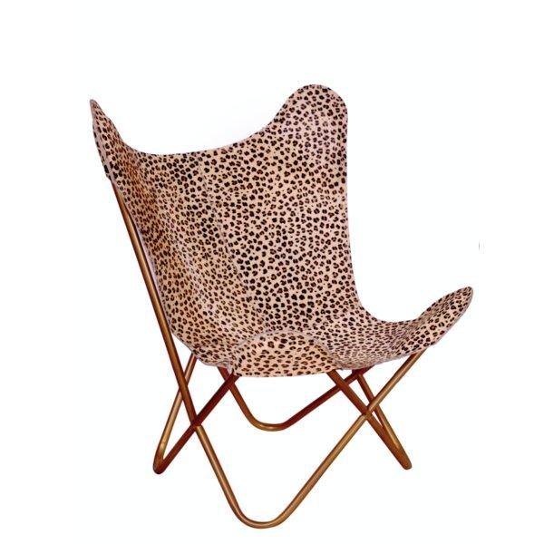 Bloomsbury Market Merseles Cheetah Print Erfly Lounge Chair Wayfair