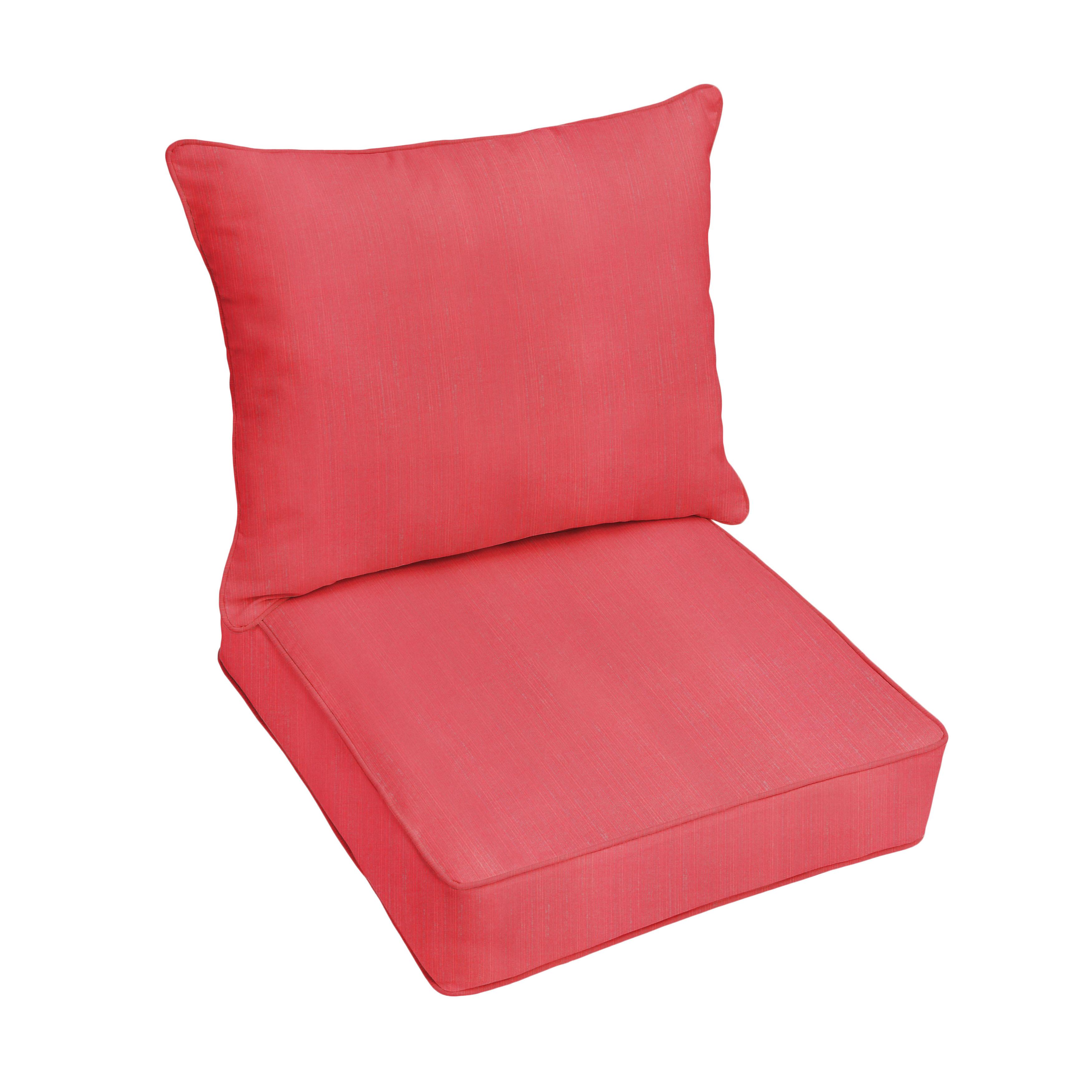 Darby Home Co Textured Indoor/Outdoor Sunbrella Lounge Chair ...