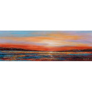 6a102222a49 Sunset Dreams II  Oil Painting Print on Wrapped Canvas