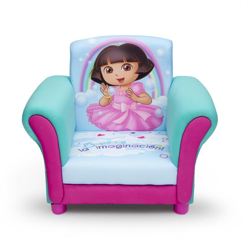Dora Kids Upholstered Club Chair