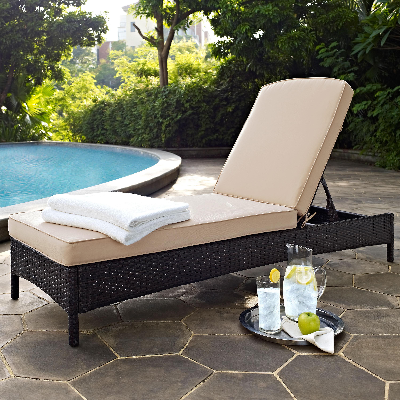 Mercury row belton reclining chaise lounge with cushion reviews wayfair