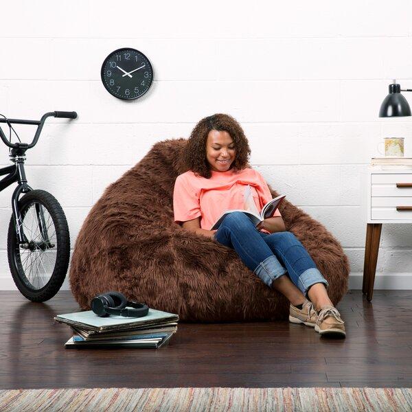 Comfort Research Big Joe Teardrop Bean Bag Chair U0026 Reviews | Wayfair