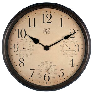 Outdoor 16.5'' Wall Clock