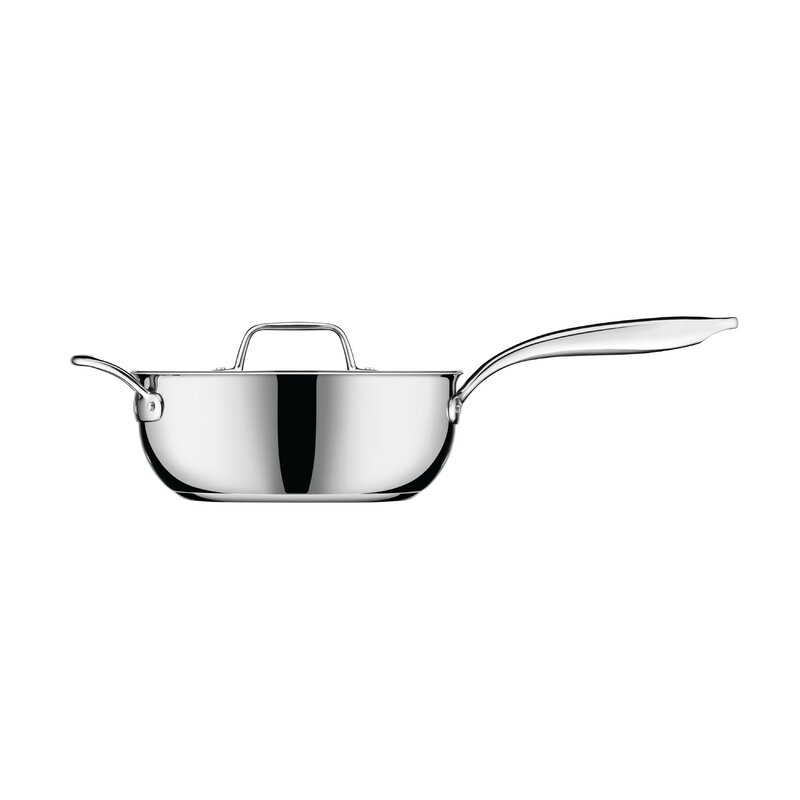Breville Thermal Pro 4 Qt Stainless Steel Saucier With Lid Wayfair