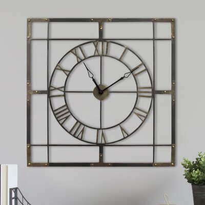 Oversized Square Wall Clocks You Ll Love Wayfair