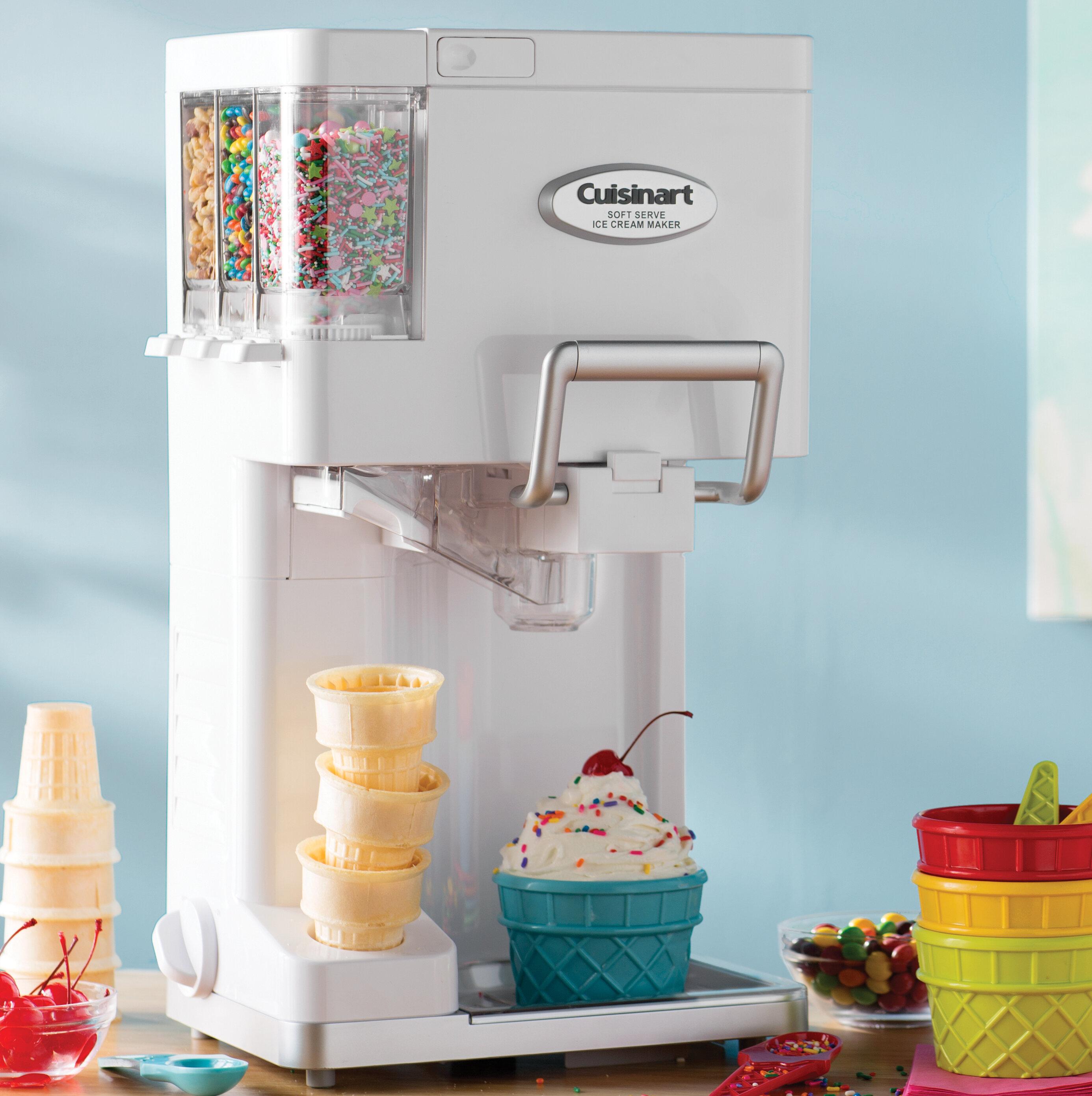 Cuisinart Mix It In Soft Serve 1.5 qt. Ice Cream Maker & Reviews ...