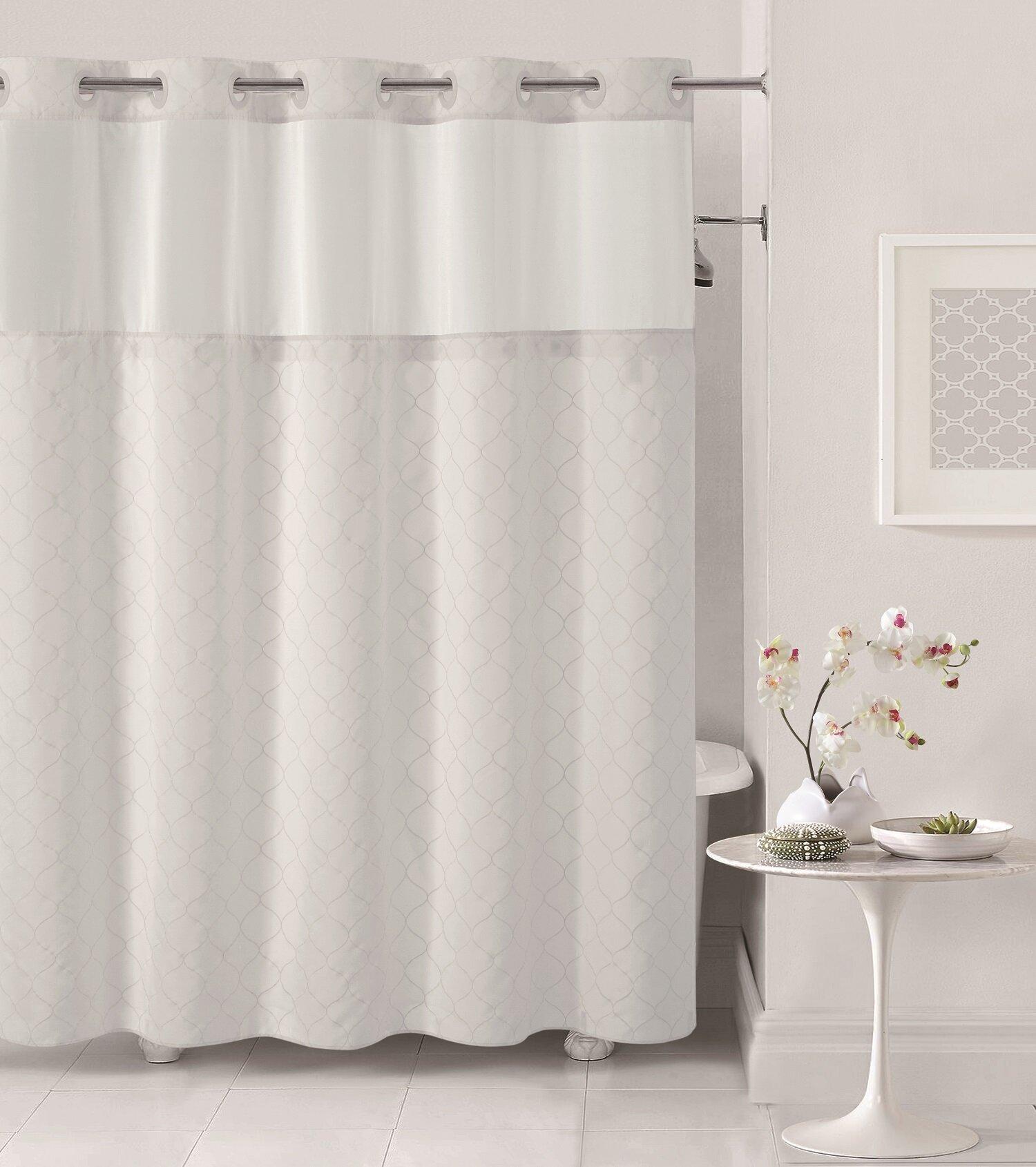 Hookless Mosaic Shower Curtain Reviews