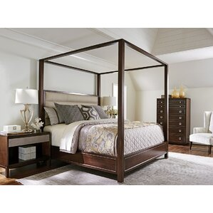 Superb MacArthur Park Terranea Upholstered Canopy Bed