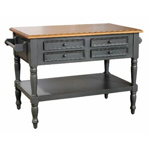 Brookstonval Kitchen Island by Darby Home..