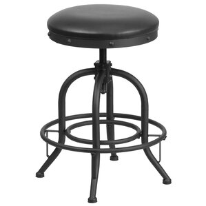 Adjustable Height Swivel Bar Stool by Flash Furniture
