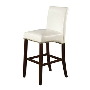 Amias Counter Height Upholstered Dining Chair (Set of 2)