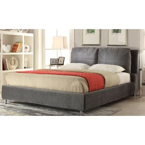 Espinoza Fabric Upholstered Platform Bed by Latitude Run