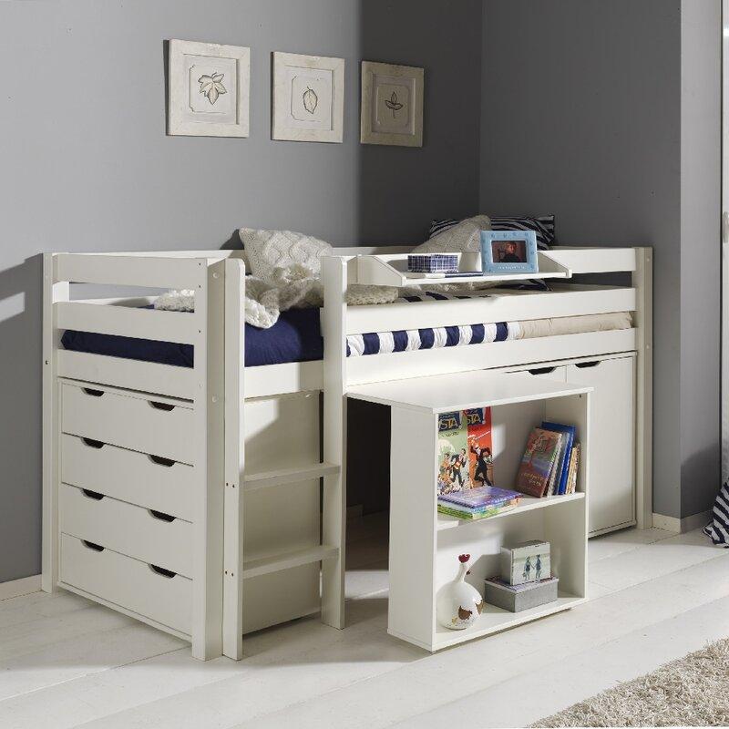 vipack spielbett pino mit schreibtisch schubladenkommde. Black Bedroom Furniture Sets. Home Design Ideas