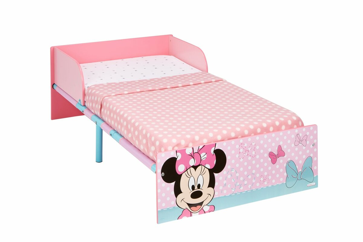 disney minnie mouse kids toddler bed - Minnie Mouse Bed Frame