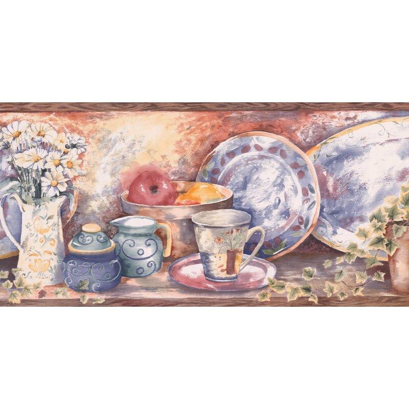 August Grove Bourassa Paint By Design Vintage Kitchen Shelf Cup Jug