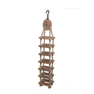 Whittiker Wood and Rope 7 Wine Rack