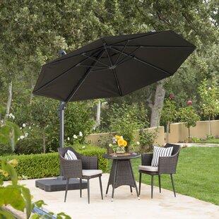 black patio umbrellas - Black Patio Umbrella
