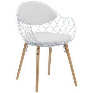 Caple Basket Arm Chair by Mercury Row