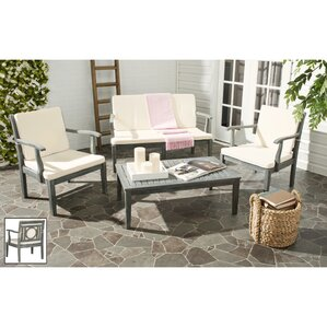 Montclair 4 Piece Deep Seating Group With Cushions