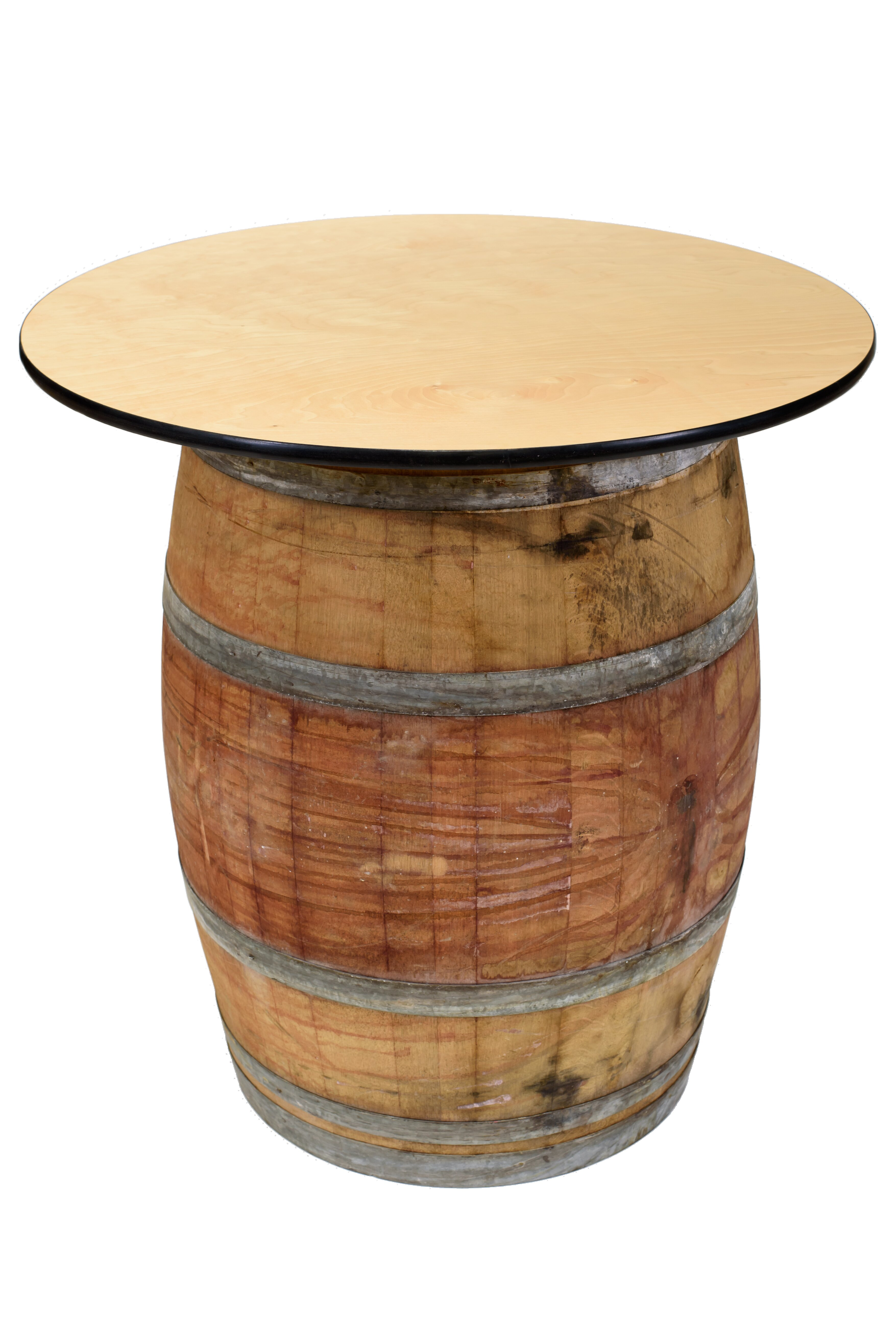 Wine Barrel Coffee Table.Soto Wood Wine Barrel Coffee Table