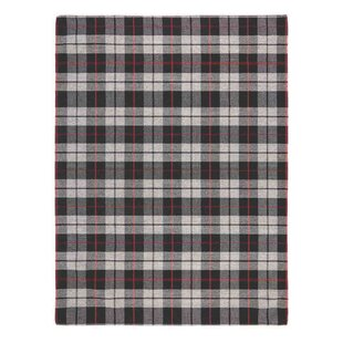 Jenette Black/Grey Rug by Brick & Barrow