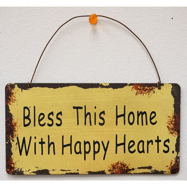 Bless This Home Sign | Wayfair