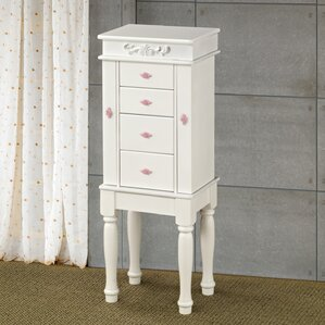 Antibes Jewelry Armoire by August Grove