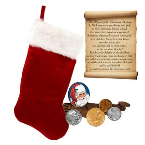 The Legend of the Coin Christmas Stocking