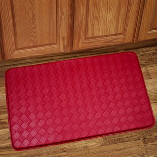 Red Kitchen Rugs In Solid Kitchen Mat Red Rug Wayfair
