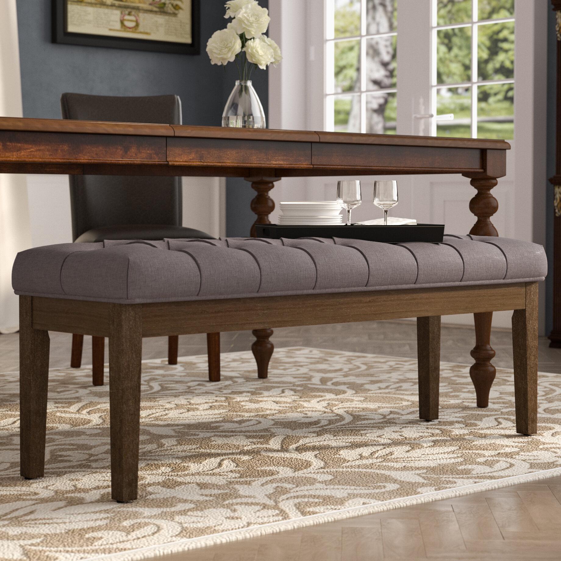 Pleasing Neumann Upholstered Bench Creativecarmelina Interior Chair Design Creativecarmelinacom