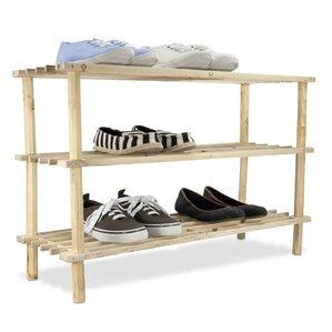 3tier 12 pair shoe rack