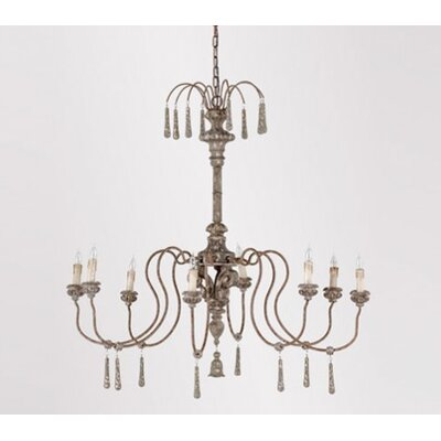 Vincent 8 light candle style chandelier