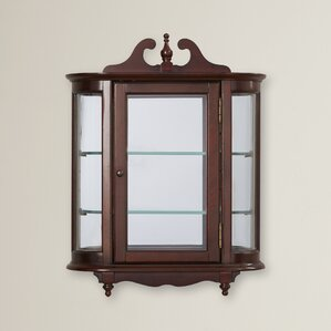 Kallen Wall-Mounted Curio Cabinet by Astoria Grand